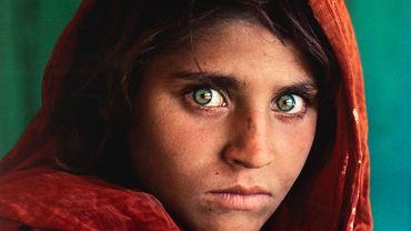 Portret Sharbat Guli - Steve McCurry, 'Afghan Girl', 1984