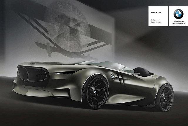 Dejan Hristov BMW Rapp concept