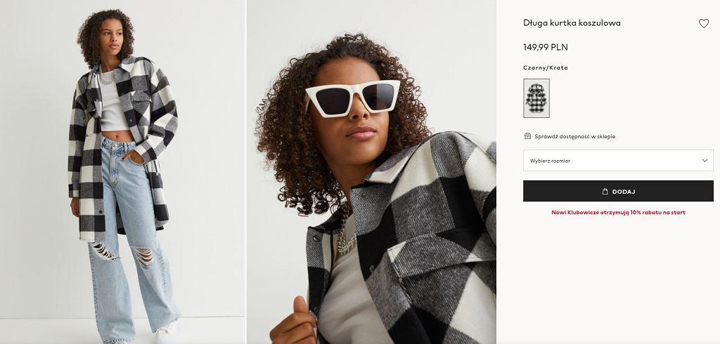 Kurtka koszulowa H&M