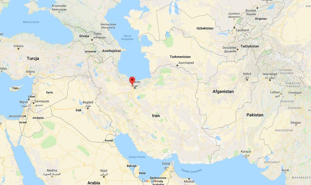 Pod Teheranem rozbił się samolot transportowy