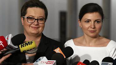 Katarzyna Lubnauer i Monika Rosa