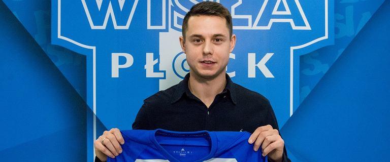 Ariel Borysiuk piłkarzem Wisły Płock