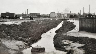 Historia Łodzi. Zdjęcia łódzkich rzek z teraz i z przeszłości