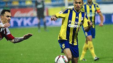Marcus da Silva był nieco w cieniu kolegów, ale po przerwie również napędzał akcje ofensywne