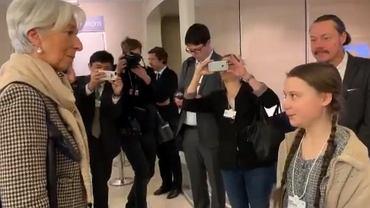 Szwedka Greta Thunberg zaapelowała do czołowych menedżerów na forum gospodarczym w Davos.