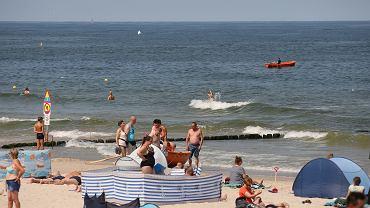 Bon turystyczny (wakacje nad polskim morzem - zdjęcie ilustracyjne)