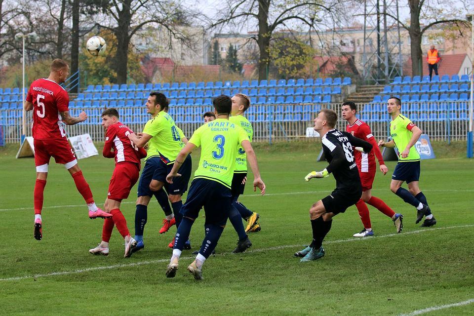 Sobota, 14 listopada 2020 r. Piłkarska trzecia liga: Warta Gorzów - Miedź II Legnica 0:2 (0:2)