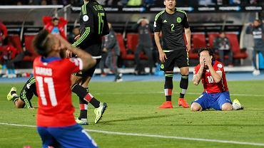 Chile - Meksyk 3:3. Jorge Valdivia