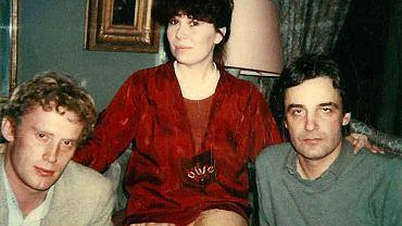 Daniel Olbrychski, Zuzanna Łapicka-Olbrychska u Andrzeja Żuławskiego, Paryż, 1979 r.