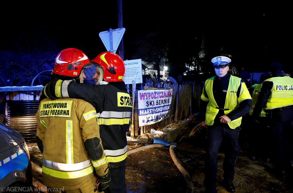 Wybuch gazu w trzypiętrowym domu w Szczyrku