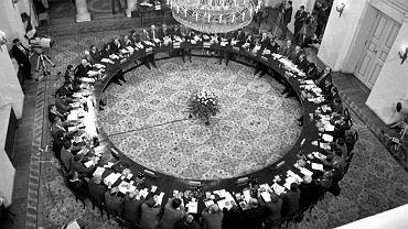Warszawa, 1989. Obrady Okrągłego Stołu