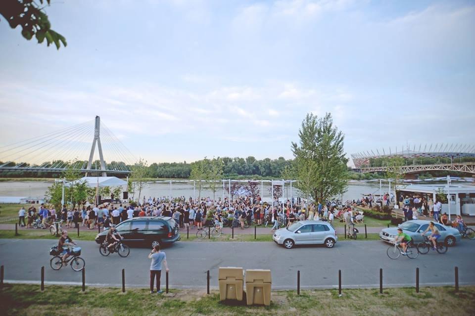 Scena Klubu Komediowego na Placu Zabaw / mat.prasowe / OLAZWAN