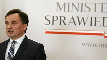 +Konferencja ministra Ziobry