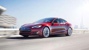 Elektryczny samochód Tesla S