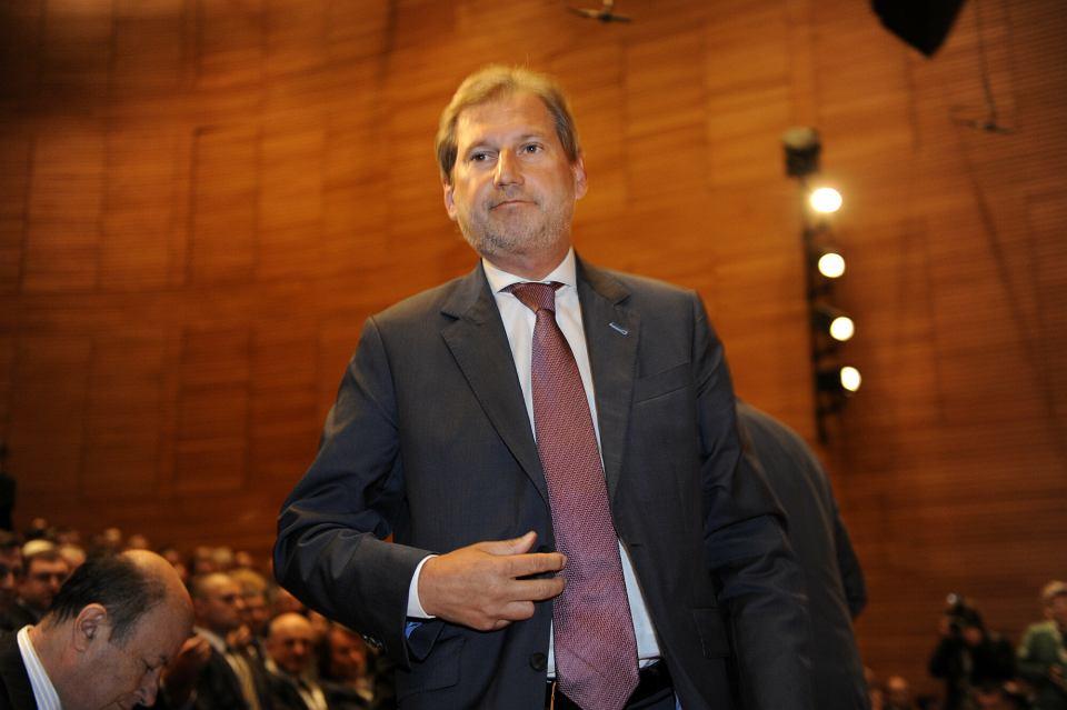 Johannes Hahn, komisarz ds. budżetu i administracji[