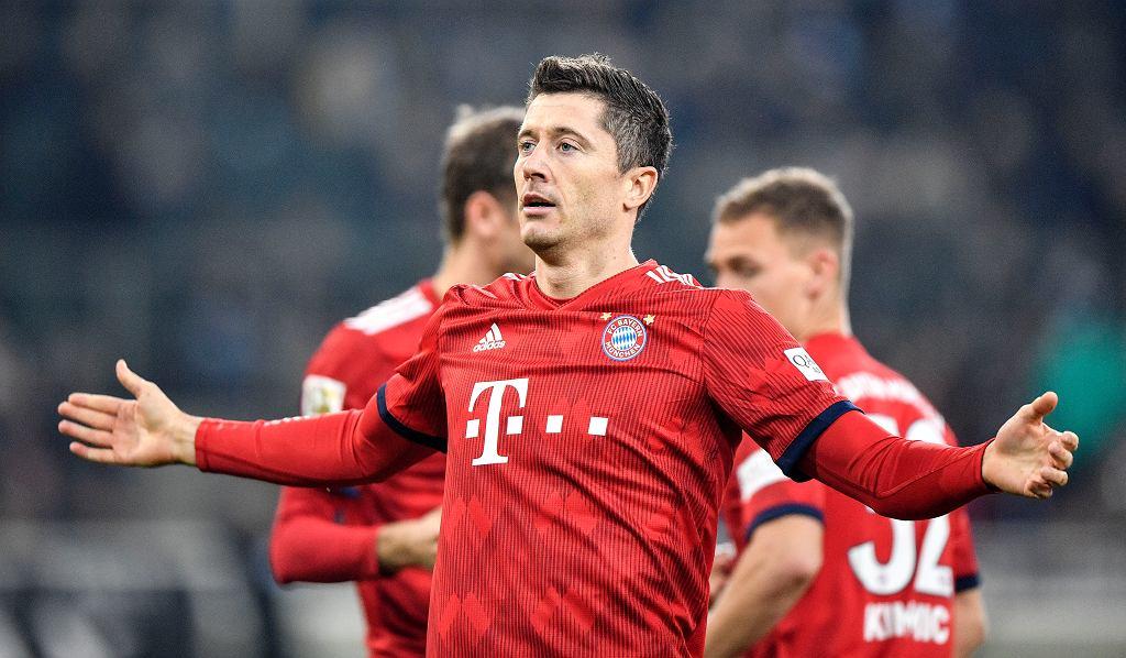 Napastnik Bayernu Monachium Robert Lewandowski