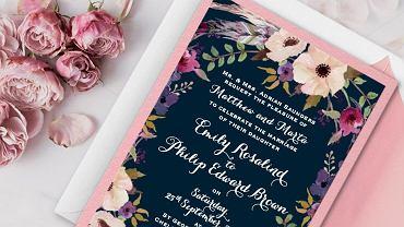 Zaproszenie Rustic Little Flowers od Cartalia