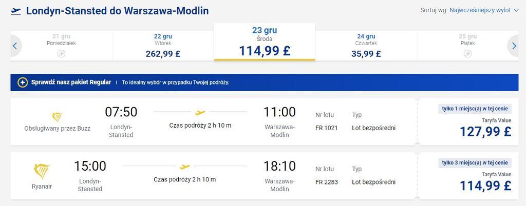 Ryanair nadal sprzedaje bilety