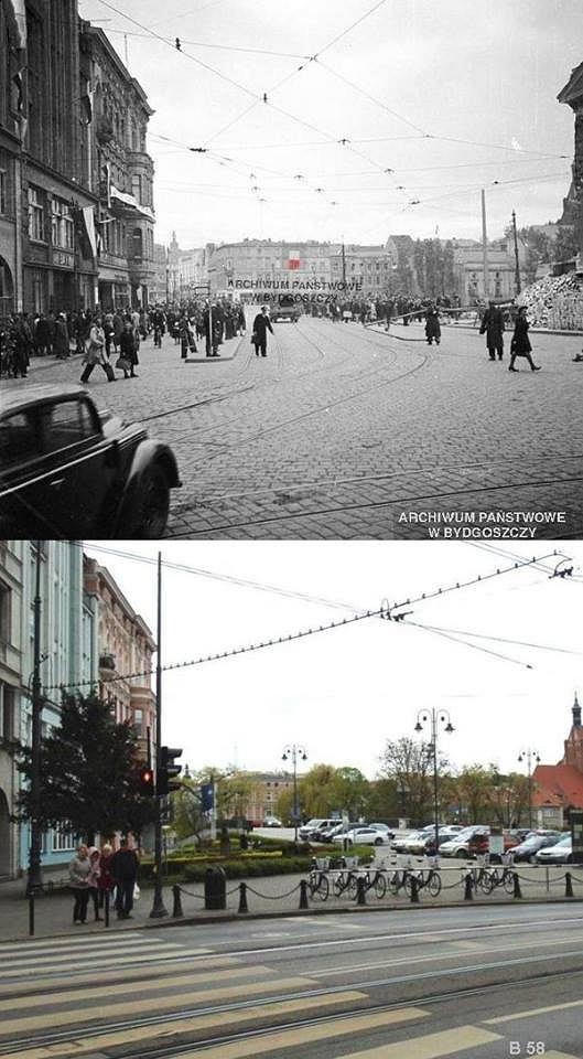 Zdjęcie numer 16 w galerii - Tak zmieniła się Bydgoszcz. Jeszcze więcej mistrzowskich porównań zdjęć
