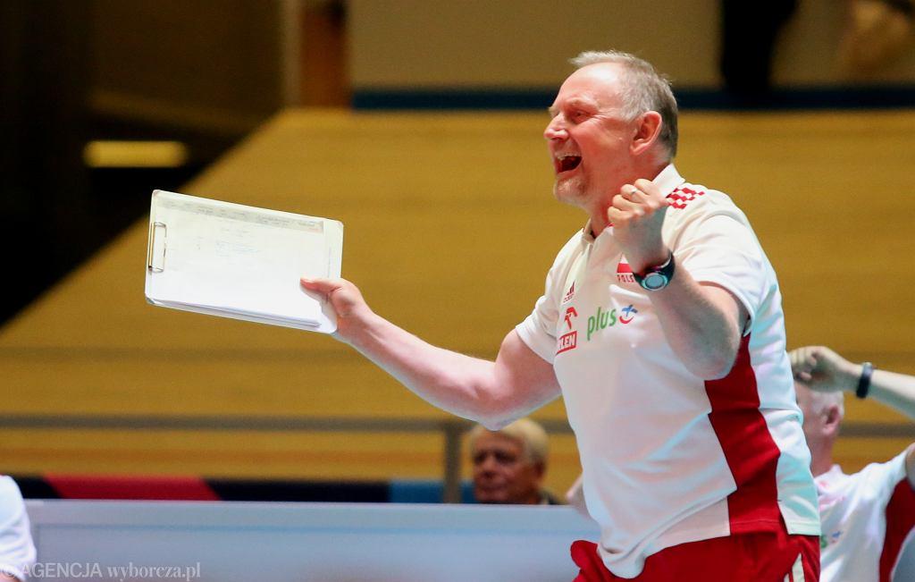 Jacek Nawrocki, w meczu Polski z Turcją