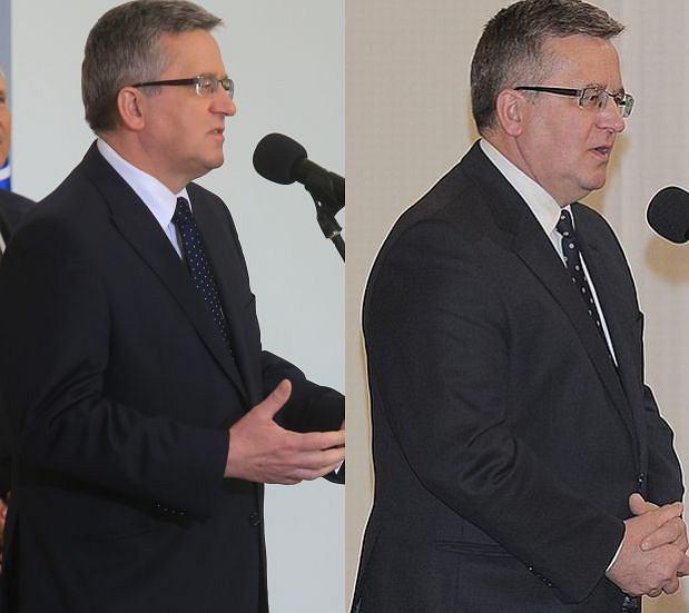 Prezydent pod koniec 2013 i w marcu 2014: