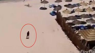 Kadr z nagrania świadka