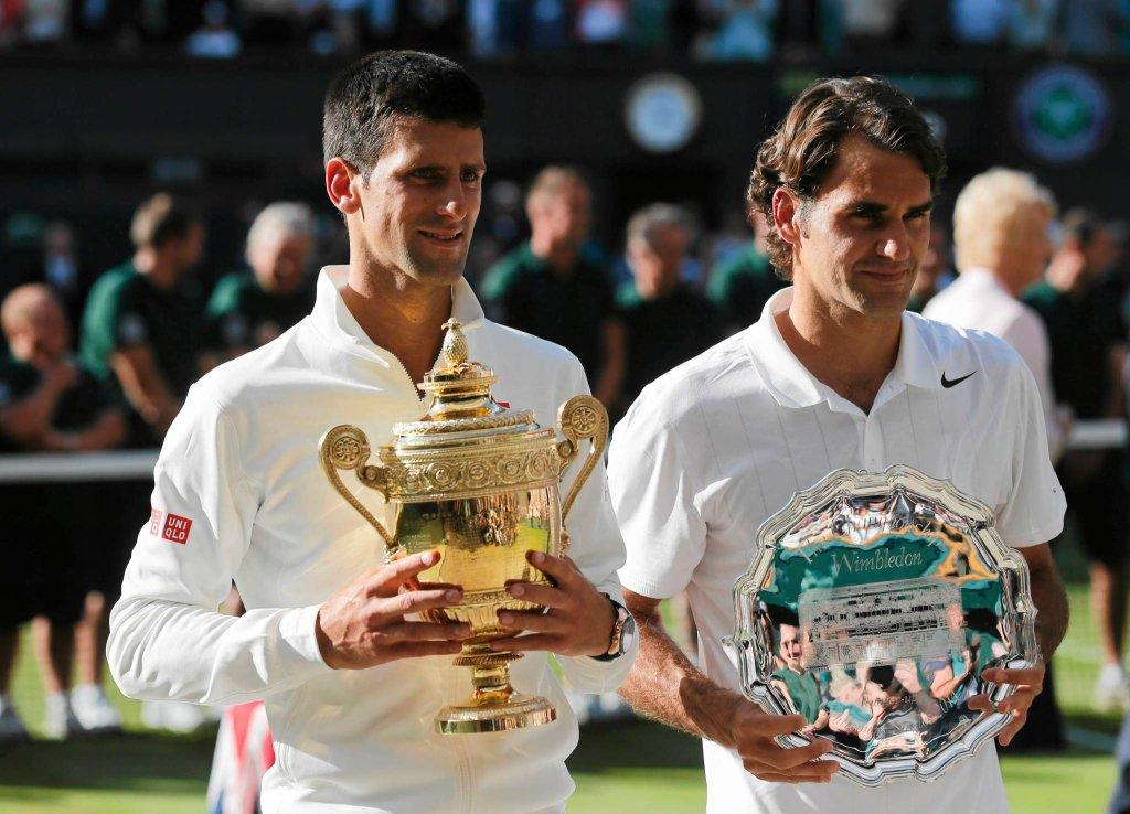 Novak Djoković i Roger Federer