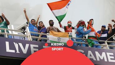 Fani w Dubaju podczas meczu Pucharu Świata Indie - Pakistan