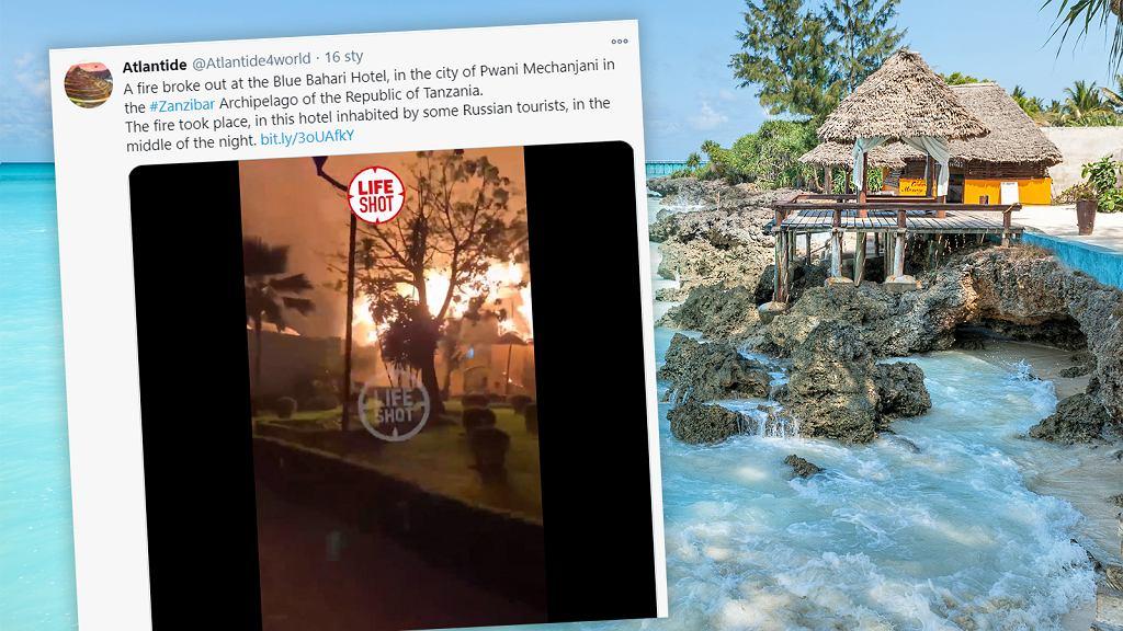 Pożar na Zanzibarze