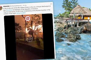 Pożar hoteli na Zanzibarze. Wśród turystów Polacy