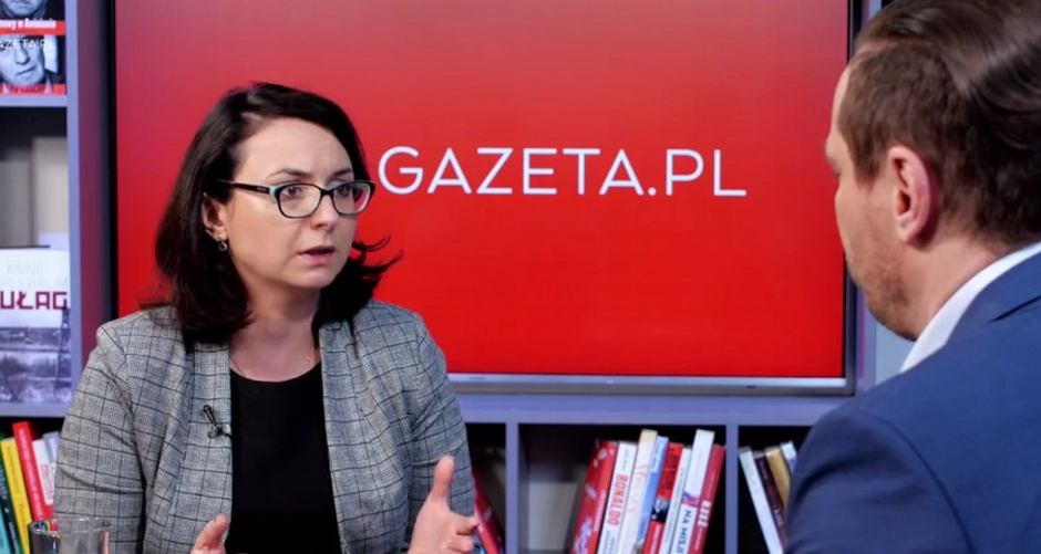 Kamila Gasiuk-Pihowicz w Porannej Rozmowie w Gazeta.pl