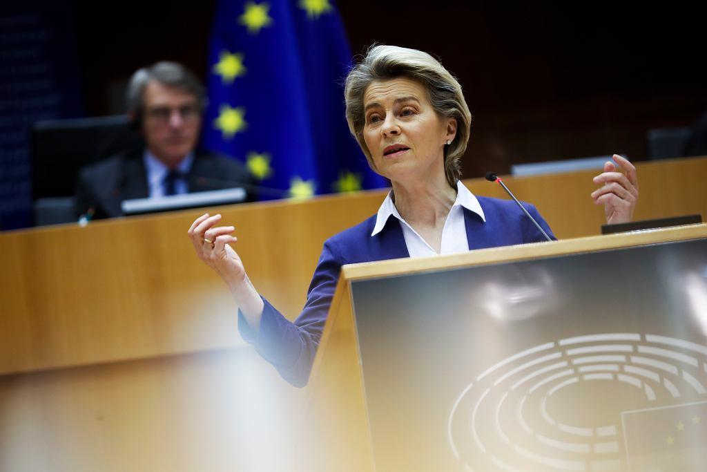 Szefowa Komisji Europejskiej