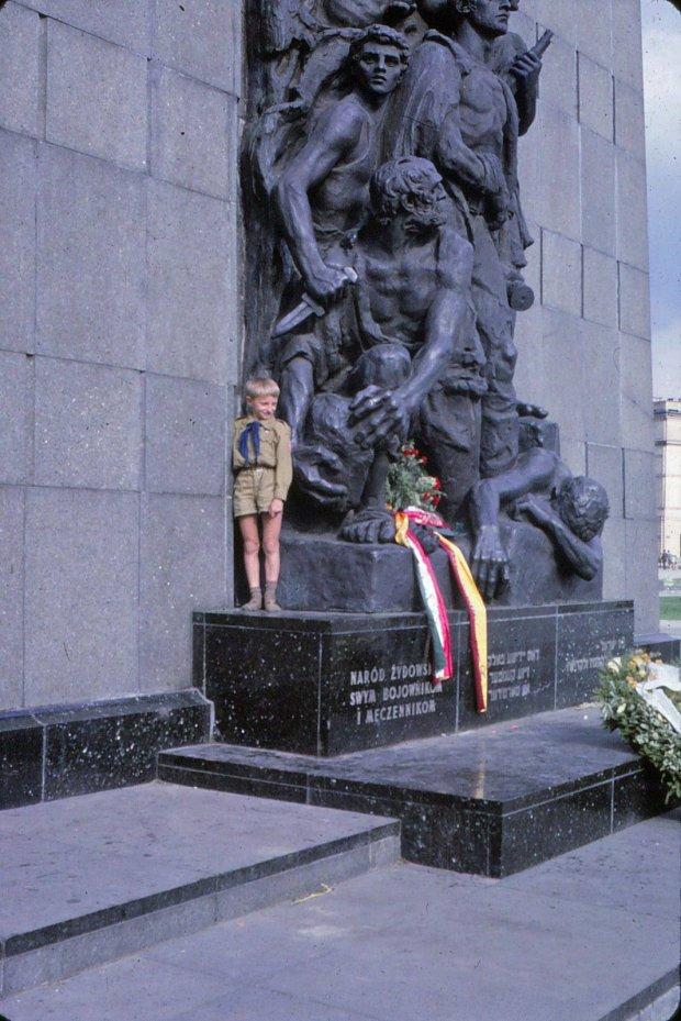 Pomnik Bohaterów Getta, fot. Frank Scherb