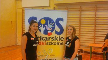 Kinga Kołosińska (z lewej) i Monika Brzostek