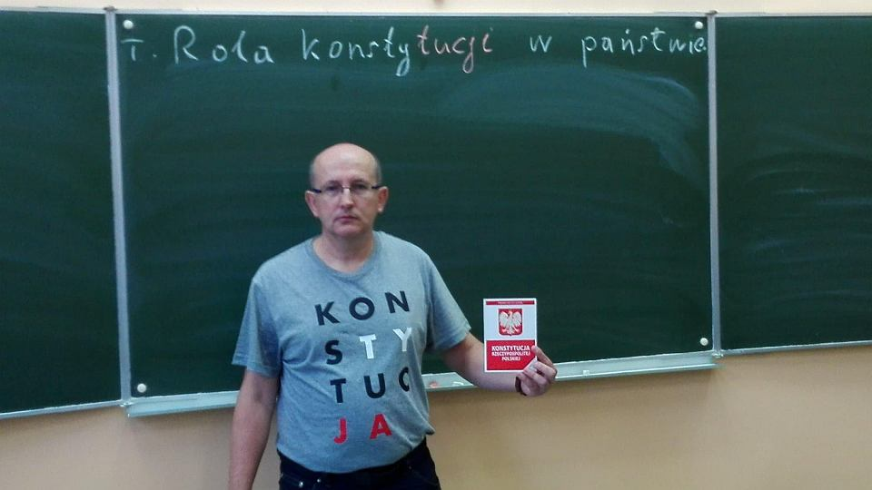 Nauczyciel Krzysztof Majsak