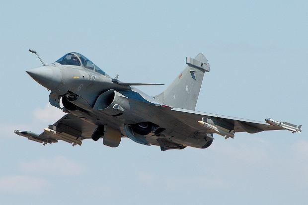 Francuski myśliwiec Rafale. W poprzednim szwajcarskim konkursie był najlepszy pod względem możliwości bojowych. Ogólnie przegrał jednak ze znacznie tańszym JAS-39 Gripen