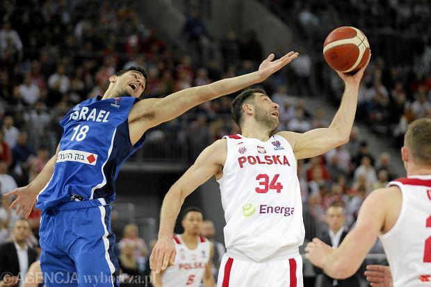 Fatalny początek polskich koszykarzy w eliminacjach Eurobasketu. Porażka z Izraelem