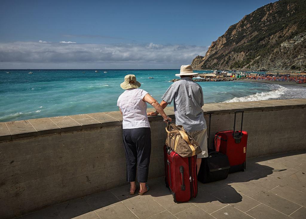 Turyści we Włoszech.