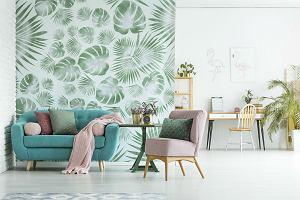 Trendy 2020: Motywy roślinne we wnętrzach. Sprawdź co jest modne