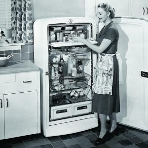 Lodówka z lat 40. ubiegłego wieku