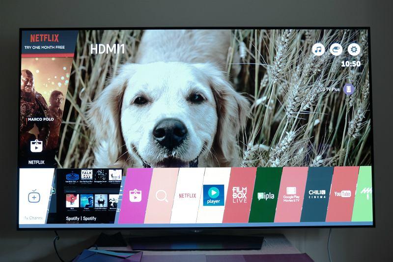 System operacyjny webOS 3.0 w telewizorze LG OLED 65B6J