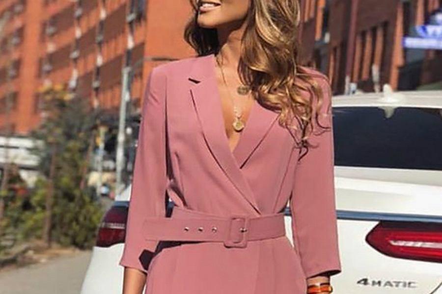 sukienka na komunię różowa
