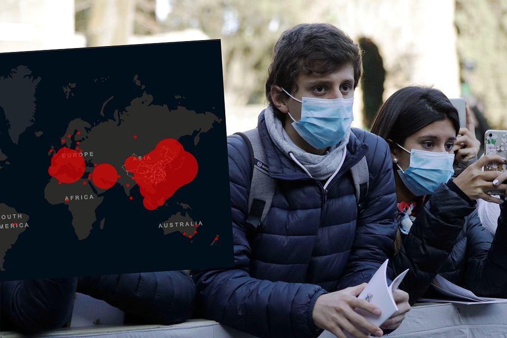 Gdzie dotarł koronawirus? [MAPA ONLINE] (zdjęcie ilustracyjne)