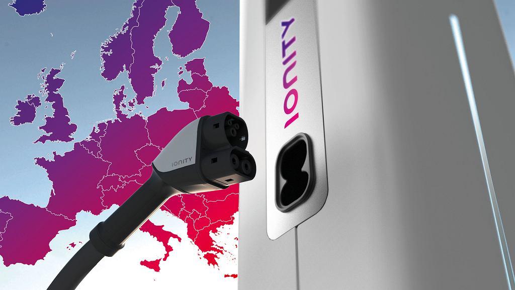 IONITY - sieć stacji szybkiego ładowania pojazdów elektrycznych