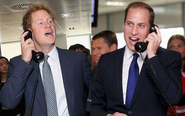 Książę Harry, Książę William.