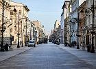 Łódź z powodu koronawirusa otwiera Piotrkowską dla dowozu jedzenia. Posiłki dla wybranych służb będą bezpłatne