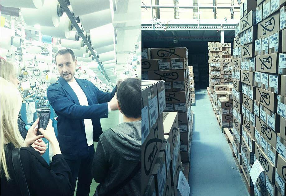 Wizyta w fabryce Gatta