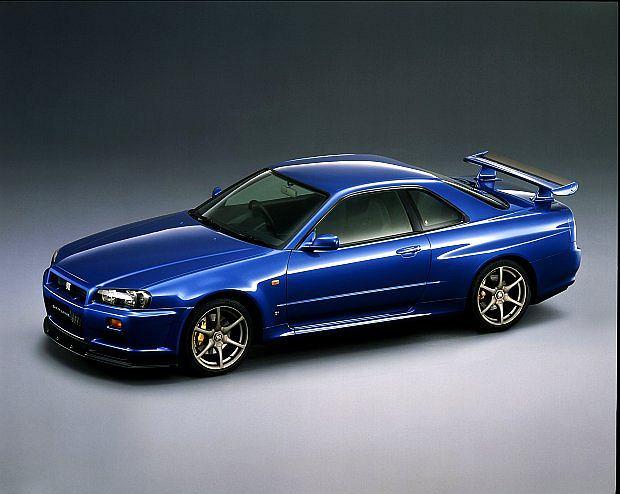 Najfajniejszy model Skylina to GT-R (R34)