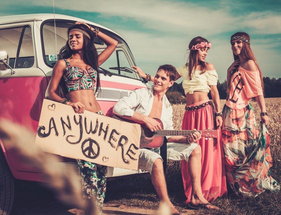 Styl Hippie Zainspiruj Sie Moda Lat 70