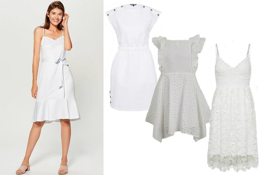białe sukienki letnie